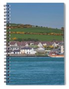House In A Town, Portaferry Spiral Notebook