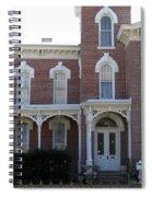 House In Denison Texas Spiral Notebook