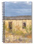 House In Ft. Stockton I Spiral Notebook