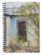 House In Ft. Stockton IIi Muted Spiral Notebook