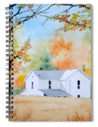 House In The Meadow Spiral Notebook