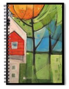 House In The Trees Spiral Notebook