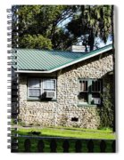 House Made Of Limestone Spiral Notebook