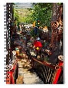 House Of Joy Spiral Notebook