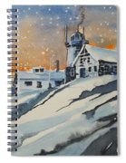 House On Hill Spiral Notebook