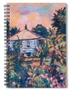 House On Route 11 Spiral Notebook