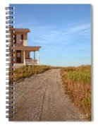 House On Rural Dirt Road Spiral Notebook