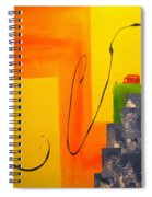 House On The Edge Of Aliveness Spiral Notebook