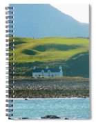 House On The Shore Spiral Notebook
