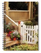 House - Rutherford Nj - My Grandmother's Garden  Spiral Notebook