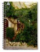 House Saint Paul De Vence France Dsc02353  Spiral Notebook