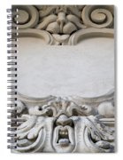 House Sign - Relief Spiral Notebook
