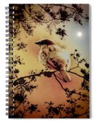 House Sparrow Spiral Notebook