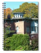 House Surrounded By Autumn Spiral Notebook