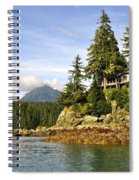 House Upon A Rock Spiral Notebook