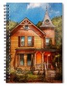 House - Victorian - The Wayward Inn Spiral Notebook
