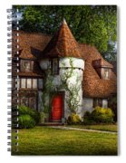 House - Westfield Nj - Fit For A King Spiral Notebook