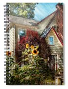 House - Westfield Nj - The Summer Retreat  Spiral Notebook