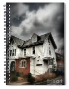 House With Brick Front - American Gothic Spiral Notebook