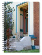 House With Griffin Lafayette Square St Louis Spiral Notebook