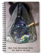 Housebound Days Spiral Notebook