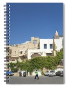 Houses In Jaffa Tel Aviv Israel Spiral Notebook