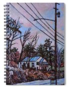 Houses In Pulaski Spiral Notebook