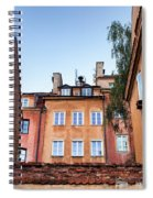 Houses In The Old Town Of Warsaw Spiral Notebook