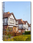 Houses In Woodford England Spiral Notebook