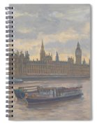 Houses Of Parliament Spiral Notebook