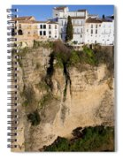 Houses On Rock In Ronda Spiral Notebook