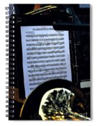 Houston Brass Band In Concert Spiral Notebook
