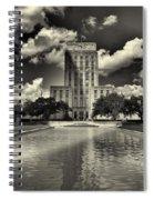Houston City Hall Spiral Notebook
