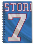 Houston Oilers Dan Pastorini Spiral Notebook