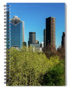 Houston Skyline, Houston, Texas Spiral Notebook