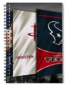 Houston Sports Teams Spiral Notebook