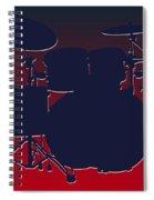 Houston Texans Drum Set Spiral Notebook