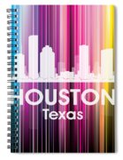 Houston Tx 2 Spiral Notebook