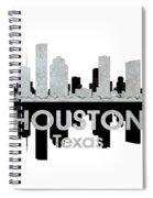 Houston Tx 4 Spiral Notebook