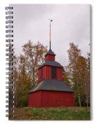 Houtskari Church Clock Tower Spiral Notebook