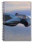 Hover Car Spiral Notebook