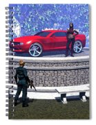 How Did You Get That Car Up There? Spiral Notebook