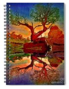 How One Tree Becomes Two Spiral Notebook