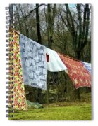 How To Dry An American Quilt Spiral Notebook