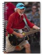 Howard Livingston Spiral Notebook