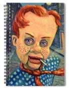 Howdy Von Doody Spiral Notebook