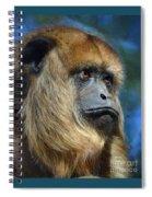 Howler Monkey Spiral Notebook