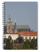 Hradcany - Cathedral Of St Vitus On The Prague Castle Spiral Notebook