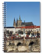Hradcany - Prague Castle Spiral Notebook