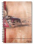 Hu 16 Albatross Spiral Notebook